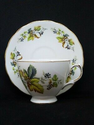 Royal Vale made in England by Ridgway Potteries  Bone China Tea Cup and Saucer