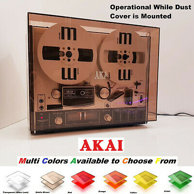 Akai Dust Cover For 4000DS ( MKII ) Reel to Reel Tape Recorder Stofkap