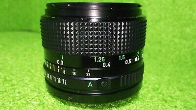 【NEAR MINT】 Canon New FD 24mm F2.8 NFD Wide Angle MF Lens From Japan #067