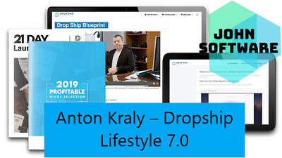 Anton Kraly – Dropship Lifestyle 7.0 + BONUS [Fast Link] [Direct Download]