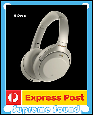 NEW Sony WH-1000XM3 Bluetooth Noise Cancelling Headphones | Silver