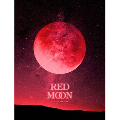 KARD [RED MOON] 4th Mini Album CD+POSTER+Photo Book+3p Card+Folded Poster SEALED