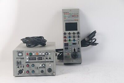 Sony CCU-TX50 Camera Control Unit W/ RCP-D50 Remote with Cable
