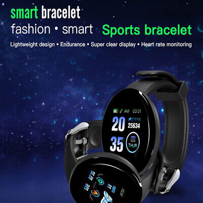 Sport Smart Watch Fitness Tracker Step Counter Pedometer Calorie Heart Rate Fit