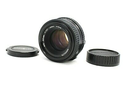 [Excellent+++] Minolta New MD NMD 50mm F/1.7 MF Lens from Japan