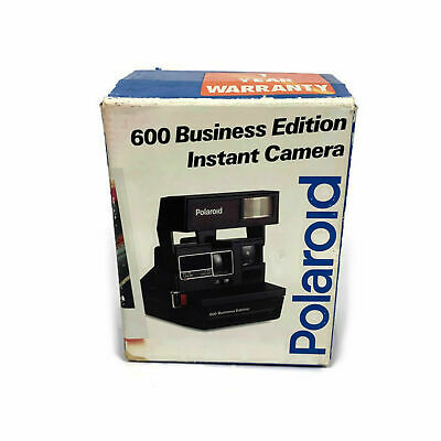 Polaroid 600 Business Edition Instant Camera With Box Vintage