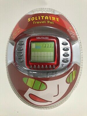 Solitaire Electronic Travel Pal Game - NEW