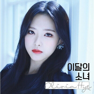 MONTHLY GIRL LOONA [OLIVIA HYE] Single Album CD+Photo Book+Card K-POP SEALED
