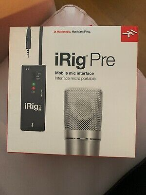 Irig Pre Mobile Mic Interface Micro Portable