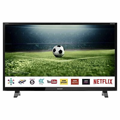 "Sharp 50"" Inch Smart LED TV Full HD 1080p-Freeview Play-Netflix - LC-50CFG6001KF"