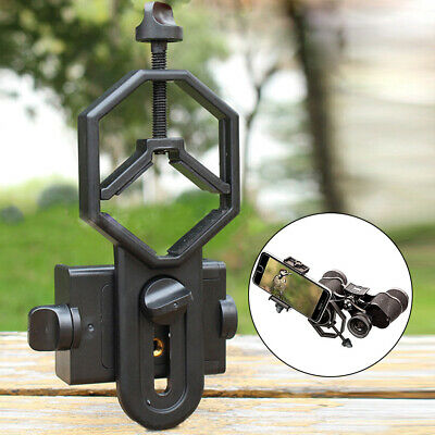 Durable Spotting Scope Mount Adapter For Digiscoping Telescope Mobile Phone tt