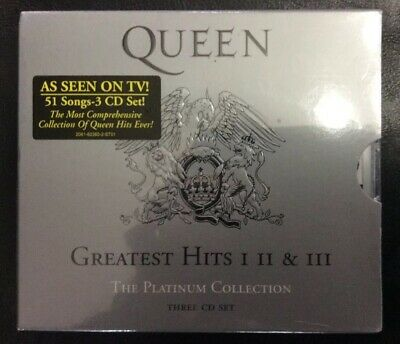 QUEEN- Greatest Hits: I II & III: The Platinum Collection (3 CD SET) CD (NEW)!!