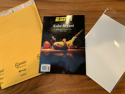 Kobe Bryant ESPN Magazine Special Edition 2020 Tribute Issue W Plastic Cover
