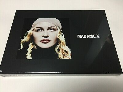 "MADONNA - MADAME X DELUXE BOXSET 2 CD MC 7"" LP Book Poster - NEW SEALED"