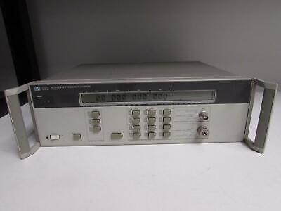 Agilent HP 5351B Microwave Frequency Counter 26.5GHz, Opt 010