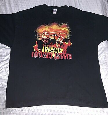 Vintage ICP Shirt Insane Clown Posse Juggalos Hatchet Man XXXL