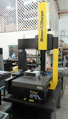 Brown & Sharpe Reflex 454 CMM, Coordinate Measuring Machine