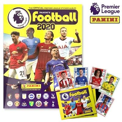 PANINI 2019/20 OFFICIAL STICKER COLLECTION ALBUM BOOK - EPL Premier League **NEW