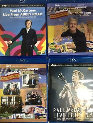 Paul McCartney Egypt Station 2018 Live From Abbey Road NYC Blu-ray 4 Discs F/S