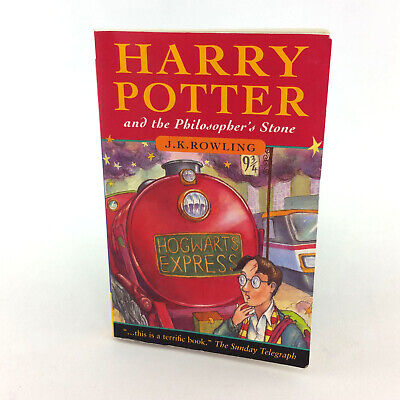 Harry Potter And The Philosophers Stone Book Canadian First Edition Raincoast