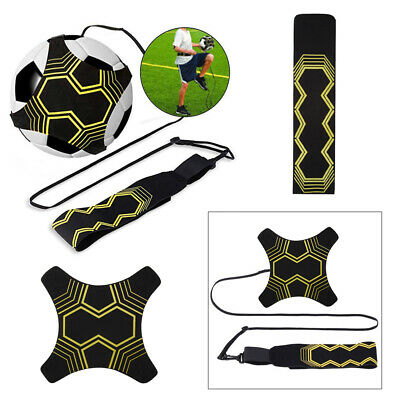 Hands- Kick Soccer Football Trainer Training Aid Practice for Kid Black