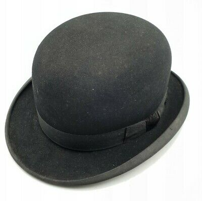 Vintage Gent's Woodrow, Piccadilly, London Bowler Hat c1940