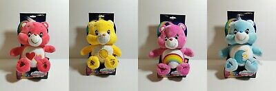 "Care Bears 12"" Plush Teddy Bear Love-a-Lot Cheer Bedtime Funshine Valentine Gift"