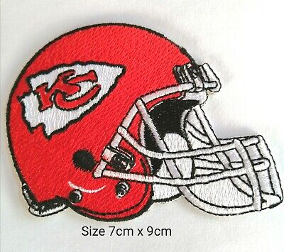 Kansas City Chiefs Iron on Patch Embroidered NFL Football Patches