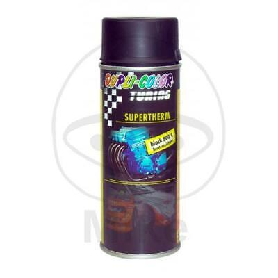 DUPLI-COLOR Motorschutzlack - spray schwarz 400 ml Supertherm 800°C matt 191794