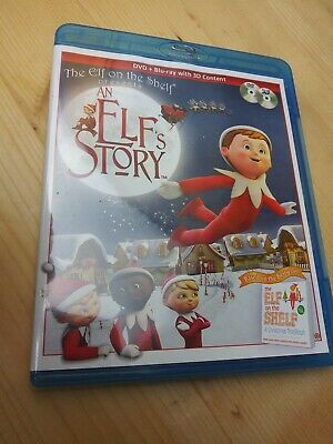 An Elfs Story Blu-ray, 2011, Elf on the shelf Christmas Movie Blu Ray