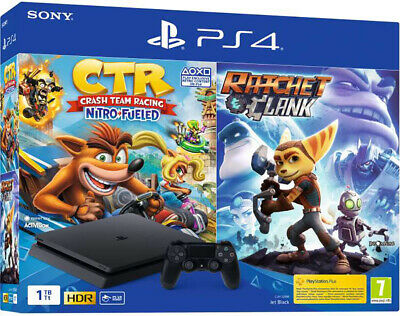 SONY PLAYSTATION 4 PS4 1TB F CHASSIS SLIM HDR+Uncharted+Zero Dawn+The Last Of Us