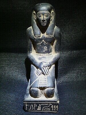 EGYPTIAN ANTIQUES ANTIQUITIES Kneeling Statue Of Pepy I Figure 2338-2298 BC