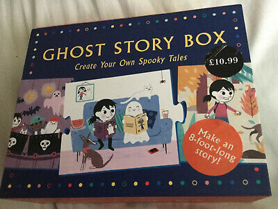 Ghost Story Box : Create Your Own Spooky Tales: 20 Story-telling Puzzle Piece.