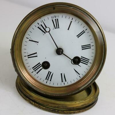 SMALL ANTIQUE FRENCH CLOCK MOVEMENT by JAPY FRERES