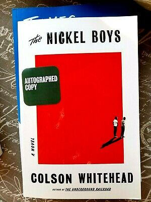 THE NICKEL BOYS by Colson Whitehead signed copy