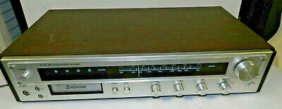 Eversonic Recorder 8 Track Player Stereo AM FM Radio 1901 Tested Working