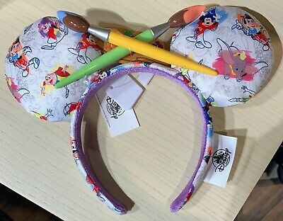 Disney Parks Ink and Paint Minnie Mouse Ear Headband - BRAND NEW