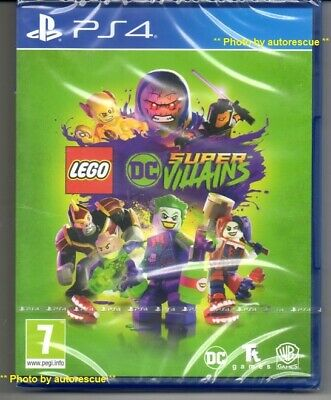LEGO DC Super-Villains  'New & Sealed'  *PS4(Four)*