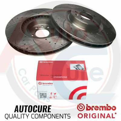 VAUXHALL INSIGNIA 2.0 CDTi SRi FRONT DRILLED /& GROOVED BRAKE DISCS 321MM