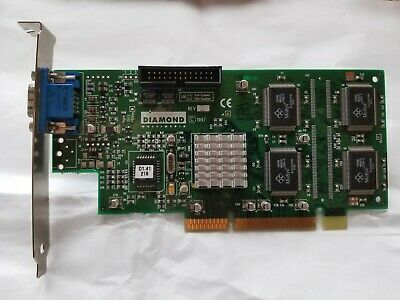 23130039-403 Diamond Dell//Diamond Fire GL 1K VGA Video Card 23130039-403 8MB AGP