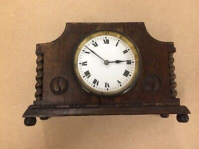 Japy Freres Oak Mantle Clock - Spares Repairs