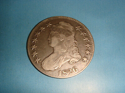 "1826 Early Capped Bust Half Dollar ""Very Nice Detailed"""