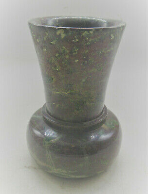 Interesting Old Antique Polished Stone Vessel Needs Further Research