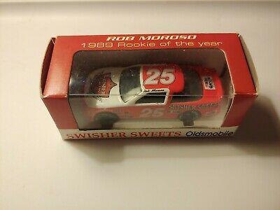 New Action 1:64 Diecast NASCAR Rob Moroso Swisher Sweets 1989 Rookie Olds #25