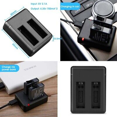 4.35v 700mAh Micro Type-c USB Camera Battery Charger for Insta360 One x