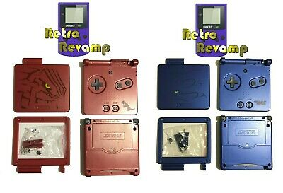 Game Boy Advance SP Replacement Housing Shell (Limited Edition Groudon & Kyogre)