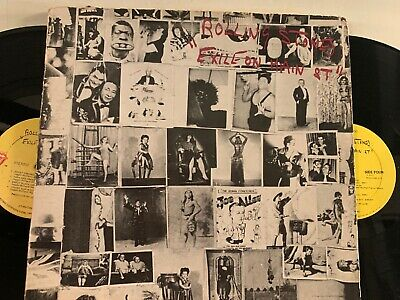 The Rolling Stones – Exile On Main St 1972 LP Rolling Stones Records COC 2-2900