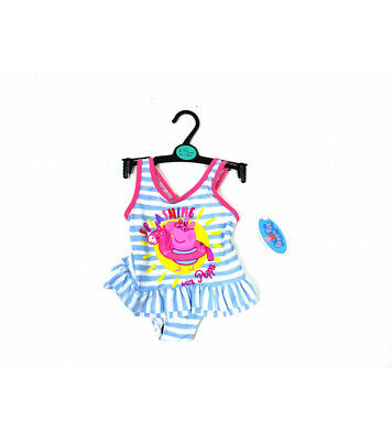 Girls Peppa Pig swimwear swimming costume toddler