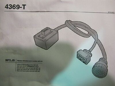 Citroen Lexia Adapterkabel Prüfkabel Differenzierkabelbaum 4369-T 9972-JS #12659