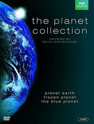 The Planet Collection (Blue Planet/Planet Earth/Frozen Planet) [DVD], Good DVD,